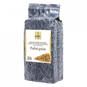 Praliné grains chopped and caramelised hazelnuts 50% 1 kg