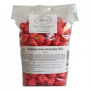 Pralines rose amande 40% entières 330 g