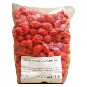 Pralines rose amande 50% Suprêmes entières 1 kg