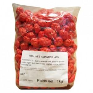 Pralines rose amande 40% entières 1 kg