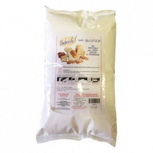 Gluten free mix for bread and pastries 1 kg