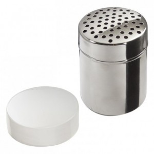 Saupoudreuse perforations Ø4 mm inox