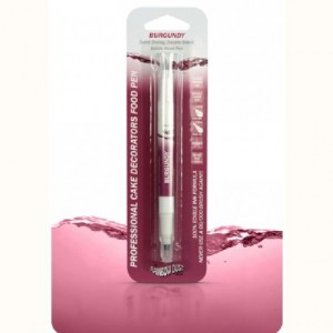 RD Professional Double sided Food Pen Burgundy No IPA