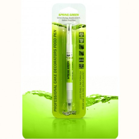 Stylo alimentaire à double mine Rainbow Dust Spring Green