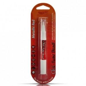 RD Click Twist Brush® Food Paint Metallic Red