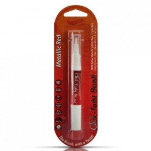 Stylo alimentaire Rainbow Dust Metallic Red