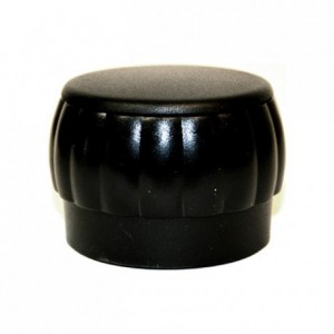 Tête de moulin plastique noire