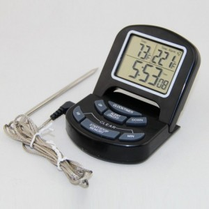 Digital thermometer with alarm 0°C to 300°C