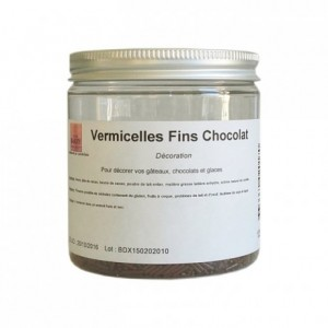 Vermicelles fins chocolat 125 g