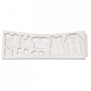 Katy Sue Mould Baby Clothes Washing Line