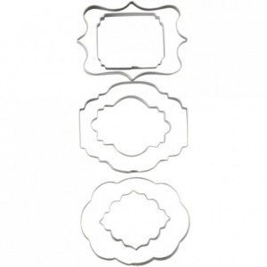 Wilton Cut-Outs -Plaque- Set/6