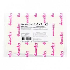 Pâte à sucre SweetArt blanche 1 kg