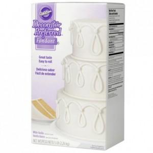 Pâte à sucre Wilton blanc 2,2 kg