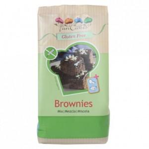 Préparation pour brownies FunCakes sans gluten 500 g