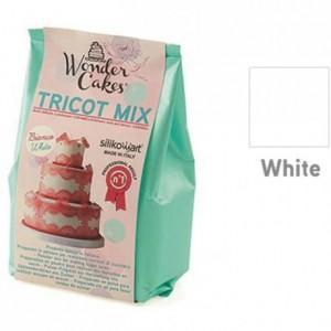 Tricot Mix blanc préparation pour dentelles en sucre 300 g