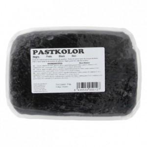 Pâte à sucre PastKolor noir 1 kg