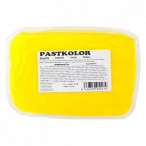 Pâte à sucre PastKolor jaune 1 kg