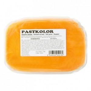 Pâte à sucre PastKolor jaune sombre 1 kg