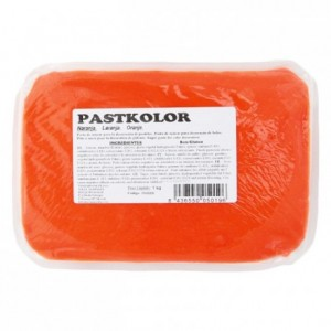 Pâte à sucre PastKolor orange 1 kg