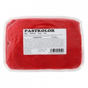 PastKolor fondant red 1 kg