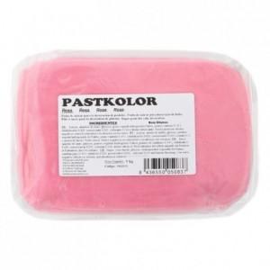 Pâte à sucre PastKolor rose 1 kg