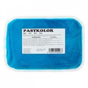 Pâte à sucre PastKolor bleu 1 kg