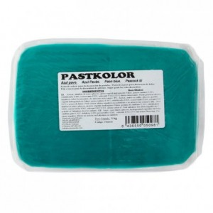 PastKolor fondant peacock blue 1 kg