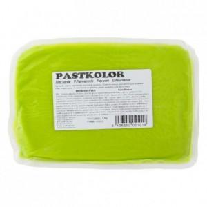 Pâte à sucre PastKolor vert fluo 1 kg