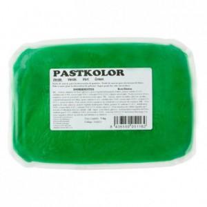 Pâte à sucre PastKolor vert 1 kg