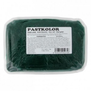 PastKolor fondant holly green 1 kg