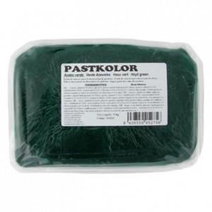 Pâte à sucre PastKolor vert houx 1 kg