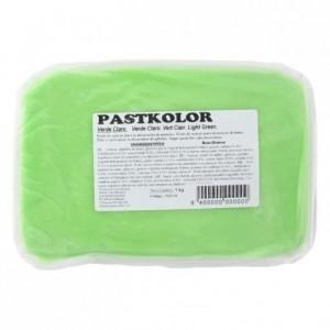 Pâte à sucre PastKolor vert pastel 1 kg