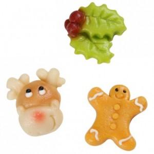 FunCakes Marzipan Christmas Assorti -Fun- pk/5
