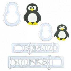 Découpoirs Tappits FMM maman et bébé penguin