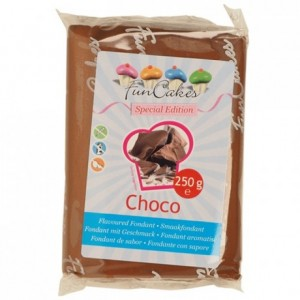 FunCakes Special Edition Flavoured Fondant -Choco- -250g-