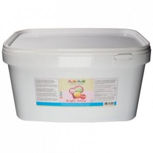 FunCakes Fondant Bright White Vanilla -10kg pail