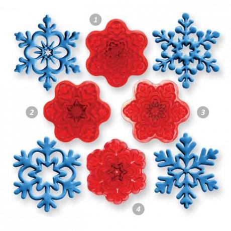 JEM Angel Snowflakes Cutter set/4