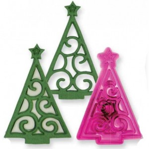 JEM Christmas Scroll Tree Cutter