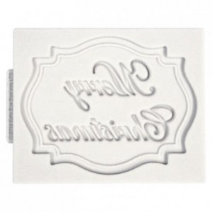 Katy Sue Mini Plaque Merry Christmas