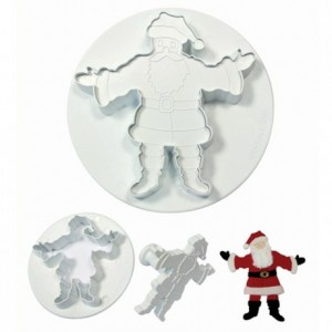 PME Father Christmas Plunger Cutter set/2