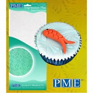 Tapis relief à pâte à sucre PME vague élégante