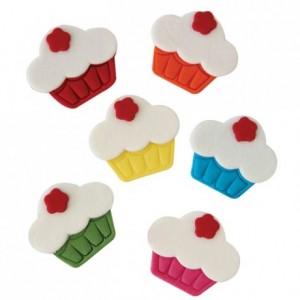 Décoration en sucre PME cupcakes 6 pièces