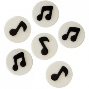PME Edible Decorations Musical Notes pk/6