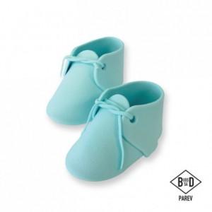 Décoration en sucre PME chaussures de bébé 2 pièces