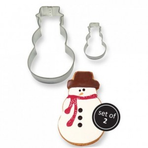 PME Cookie Cutter Snowman set/2