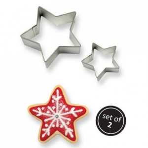 PME Cookie Cutter Star set/2
