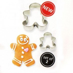 PME Cookie Cutter Gingerbread Man set/2