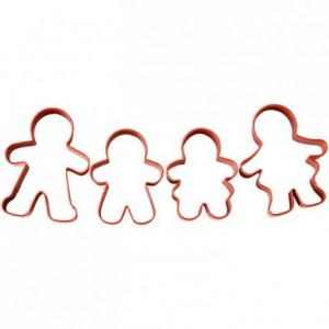 Wilton Cookie Cutter Set Gingerbread Set/4