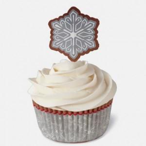 Caissettes Wilton Combo Snowflake Wishes 24 pièces