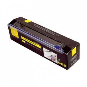 Film étirable alimentaire boite carton 0,30 x 300 m